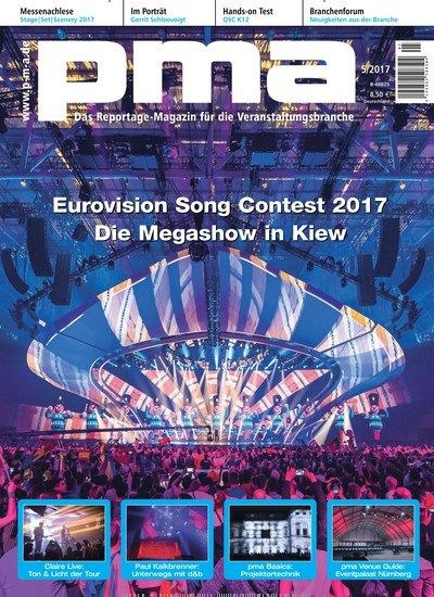 Eurovision Song Contest 2017 - Die #Megashow in Kiew Jetzt in pma Production Management.  #ESC #EurovisionSongContest #Event #venue