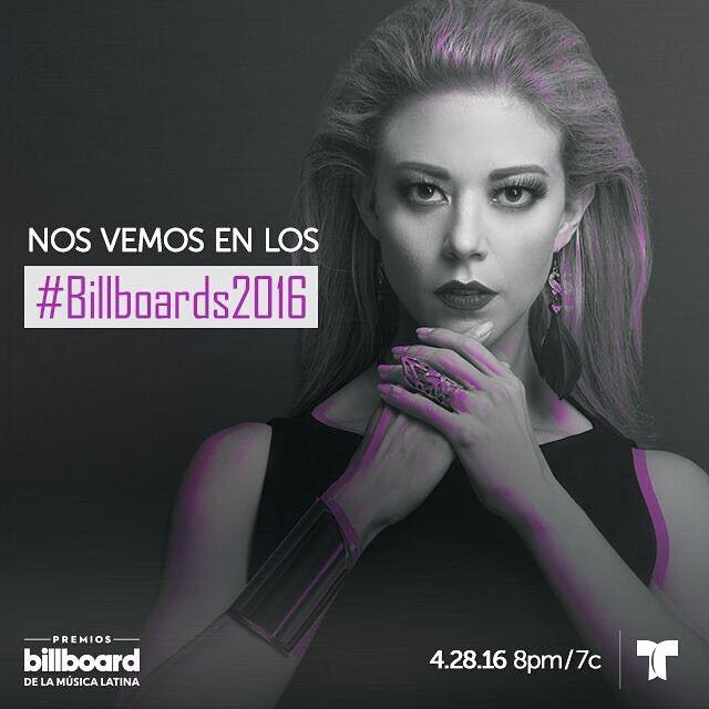 Aqui vamos #Billboards2016 No se los pierdan , solo por @telemundo este 28 de Abril !!