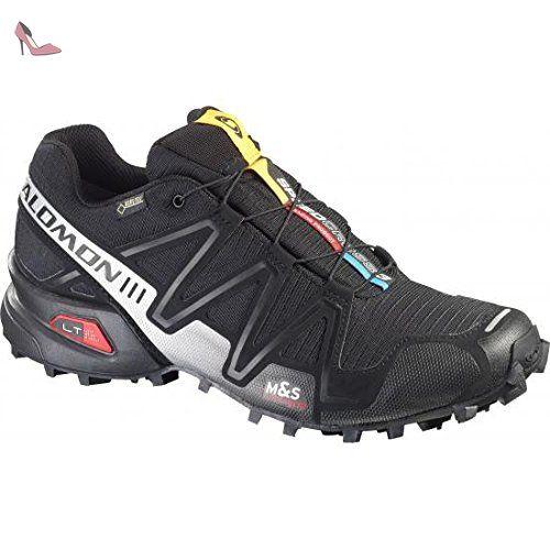 Salomon Speedcross 3, Chaussures de Trail homme, Noir (Black/Black/Silver