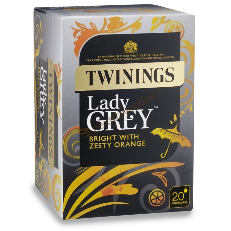 Twinings Lady Grey Envelope Tea (20)