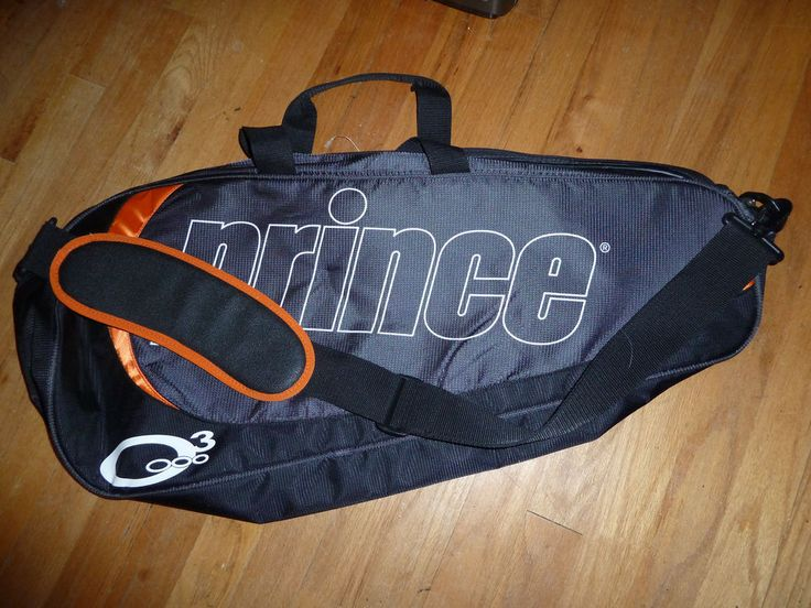 Prince O3 tennis bag for 3 racquets with inner pockets