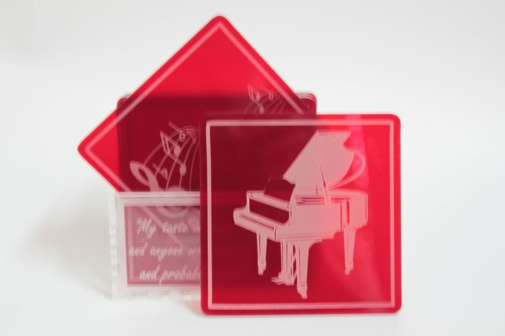 Made by www.lasercandy.co.za #LaserCandy#LaserCut#LaserEngraved#Perspex#CoasterSet#MusicalInstruments