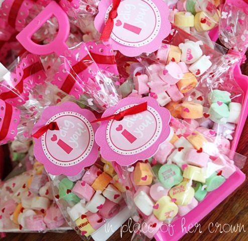 I dig you: Valentines Ideas, Kids Diy, Goodies Bags, Gifts Ideas, For Kids, Cute Ideas, Valentines Gifts, Valentines Treats, Valentines Day Cards