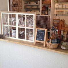 kaoriさんの、キッチン,ダイソー,ナチュラル,カトラリー,DIY,カフェ風,セリア,キッチンカウンター,のお部屋写真