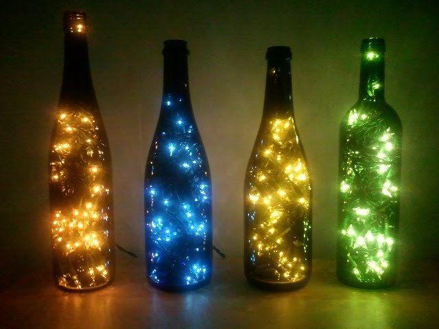 Wine Bottle Lamp by beautifuleverytime on Etsy, $18.99