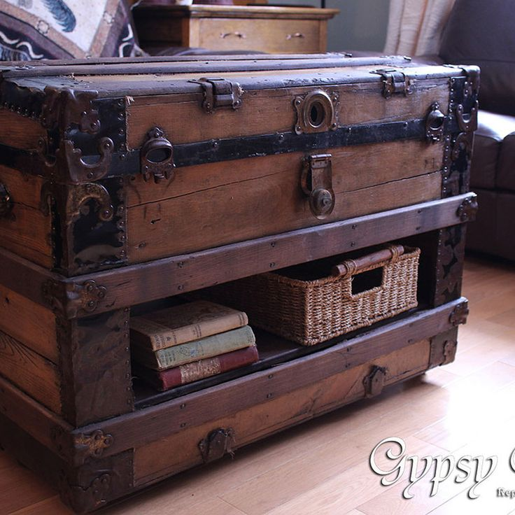 A New Twist On A Trunk Table. Monster Makeover