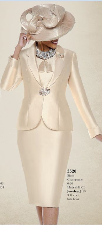 Church Suit 3520 By Susanna - Divine Church Suits