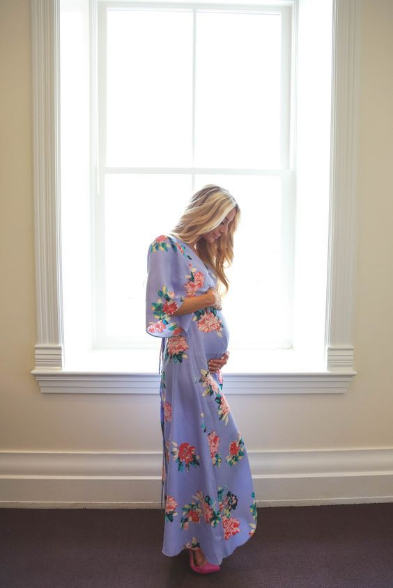 bump dressed in floral