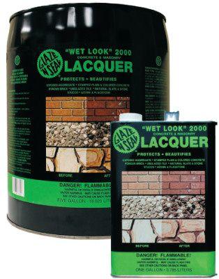 Saltillo Mexican Floor Tile Sealer. Glaze N Seal Wet Look 2000 5-Gal
