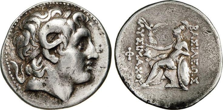 NumisBids: Numismatica Varesi s.a.s. Auction 65, Lot 37 : TRACIA - LISIMACO (305-281 a.C.) Tetradramma. D/ Testa di...
