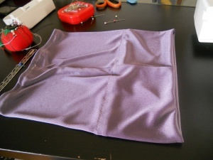 """DIY underscarf for hijab. Also check out www.heartlandhijab.com for a list of other sites that offer FREE """"how-to"""" sewing patterns for modest dress! (I need to add this one!)"""