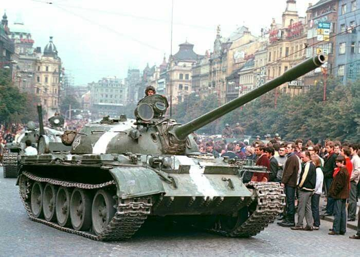 August 20, 1968: Soviet led Warsaw Pact forces invade Czechoslovakia to put an end to the uprising known as Prague Spring.