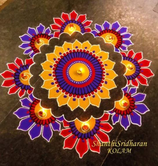 Kolam Rangoli Art Designs