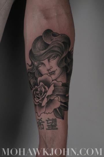 Tattoo by John Sultana from Saved Tattoo in Brooklyn, NY