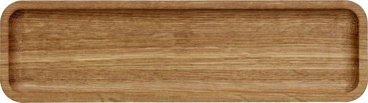 Vitriini Tray 256 x 72 mm oak - Iittala.com