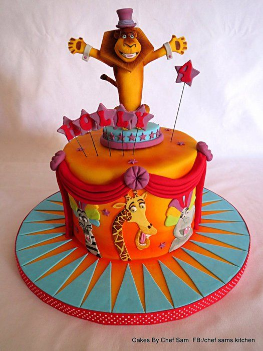 We like to Move it! - by chefsam @ CakesDecor.com - cake decorating website