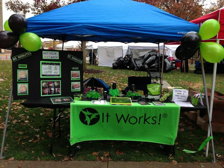 It Works Expo Booth Ideas It Works By Kristina It