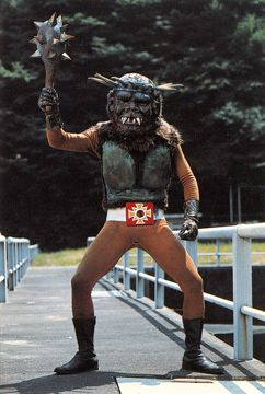 """monster from 1970s TV show """"Kikaider"""""""