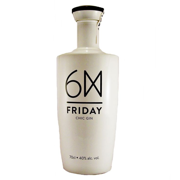 Friday Chic gin is produced by Portuguese Caves da Montanha available to buy online at specialist gin and whisky shop whiskys.co.uk Stamford Bridge York