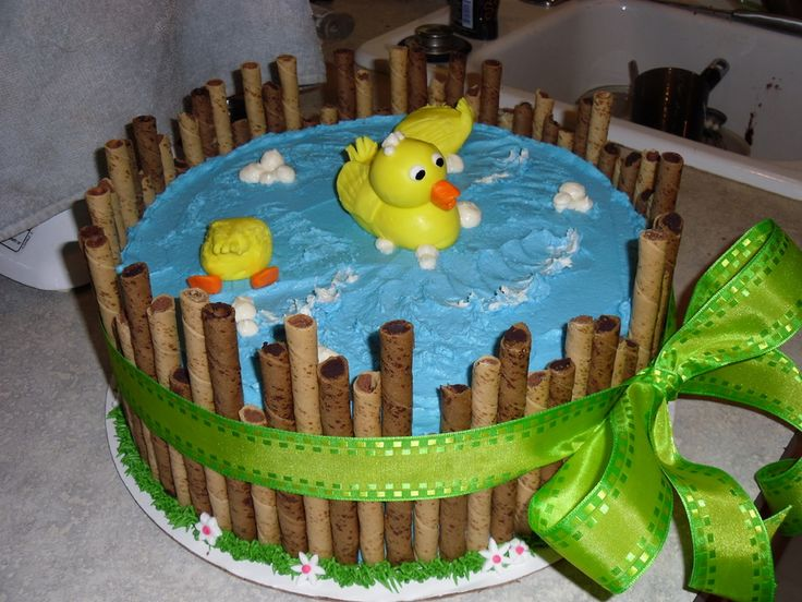 Yellow Decorations Shower Baby Duck