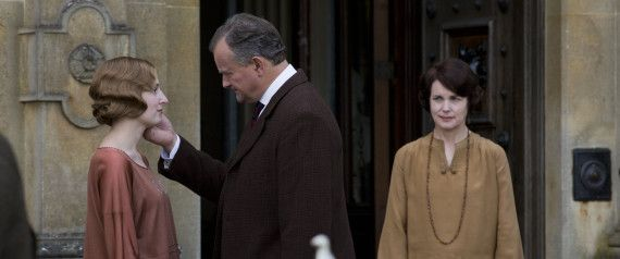In case you needed a break from all the snow sport action of the Winter Olympics at Sochi, Downton was there last night to whisk you back into its rapidly changing household.