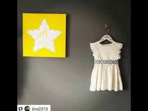 "Studio ""TalkFolk"" http://talkfolk.eu/ . #talkfolk #paintingonwood #malovany #vesiak #forlittlegirls #malaparadnica #kidsfashion #kidsacsessories #woodendecorations"