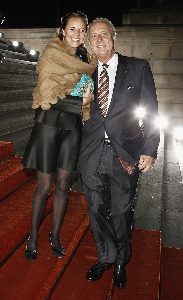 "Prince Eduard von Anhalt and Princess Corinna von Anhalt attend the PRIX Montblanc 2011 at the ""Konzerthaus am Gendarmenmarkt"" on October 25, 2011 in Berlin, Germany."