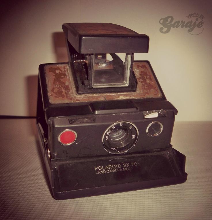 Cámara Instantánea Polaroid   SX-70 Land Camera Model 3   #ventadegaraje #polaroid #Polaroidmexico #fotografia #vintage https://www.facebook.com/ventadegarajemx