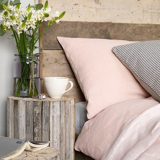 Soft grey and pink bedroom | Coastal colour schemes - 10 of the best | PHOTO GALLERY | Colour | Design | Housetohome                                                                                                                                                                                 More