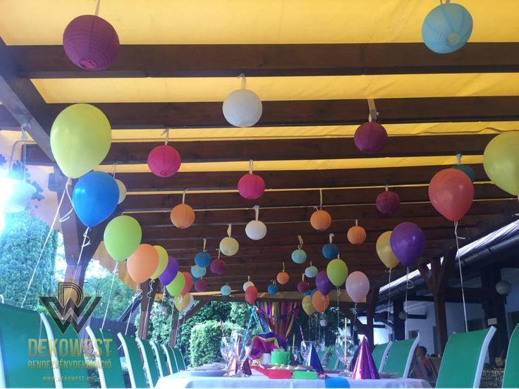 Lufik és ballonok találkozása