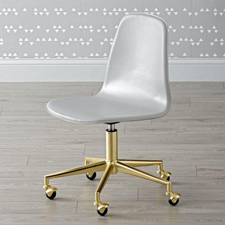 Lovely Class Act Mint U0026 Gold Desk Chair Good Looking