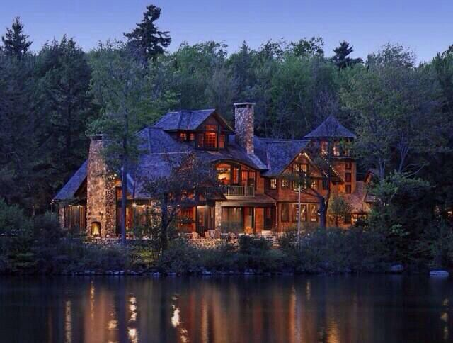 Yes Please Amazing Lake House In The Woods Kerb