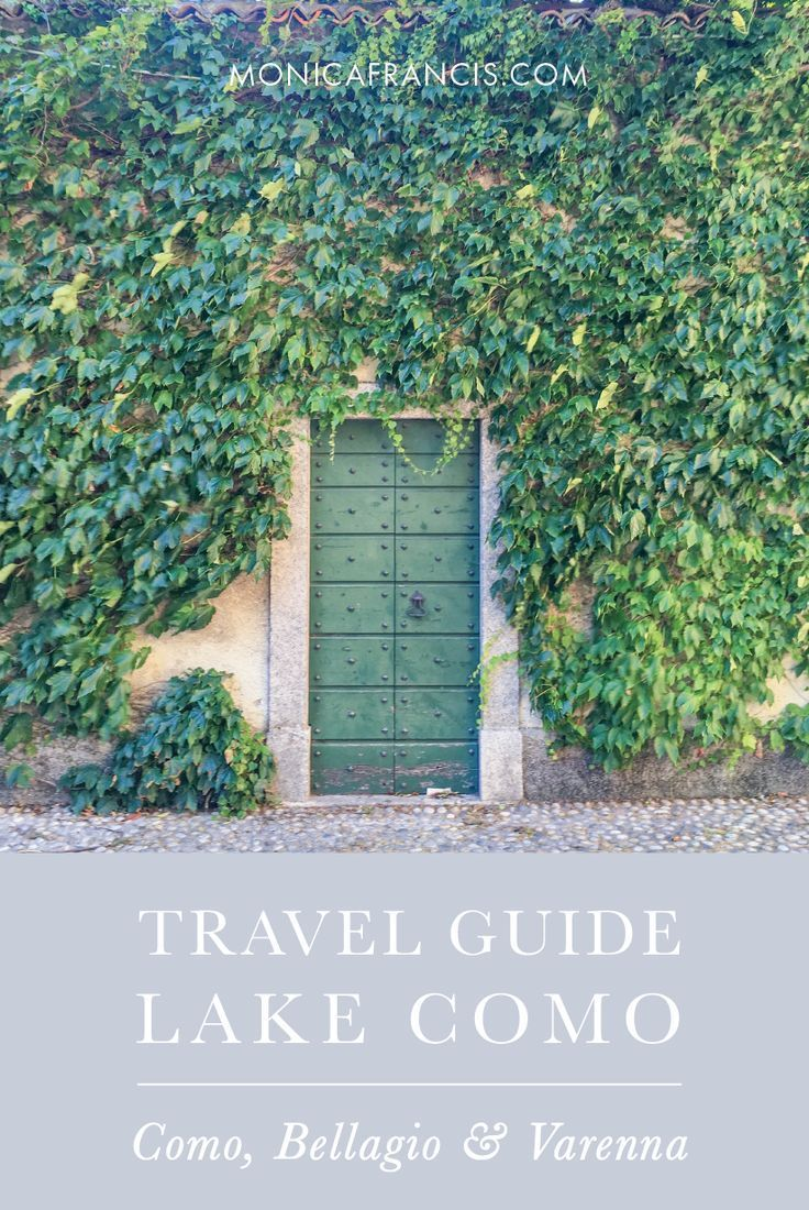 A Travel Guide to Lake Como, Italy | Why you don't need to plan things to do in the Northern Italy Lake District | Bellagio, Varenna, and Como | Where to Stay in Bellagio, Italy | Where to Eat and What to See Around Lake Como | Villas and Restaurants, with a Google travel map you can save to your phone!