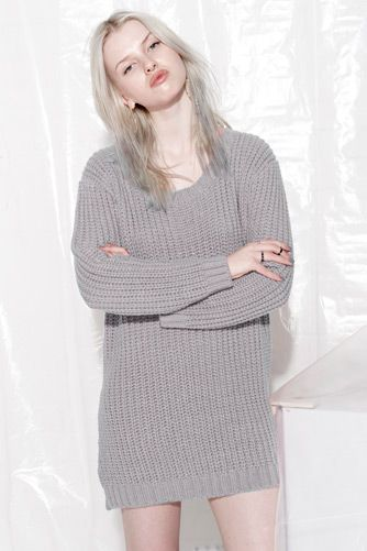 EVIL TWIN 'Lunar Rock Jumper Dress'