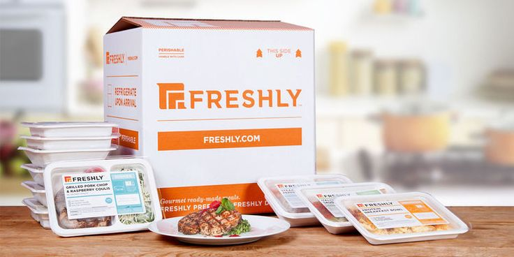 Meal Preparation is Taken Care of with a Freshly Food Delivery #healthy trendhunter.com
