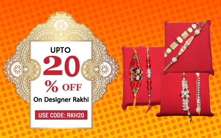 Celebrate Rakhi with great fervour this year and make your brother/sister feel special with a gift as 'Your thought' really counts on the occasion@handicrunch
