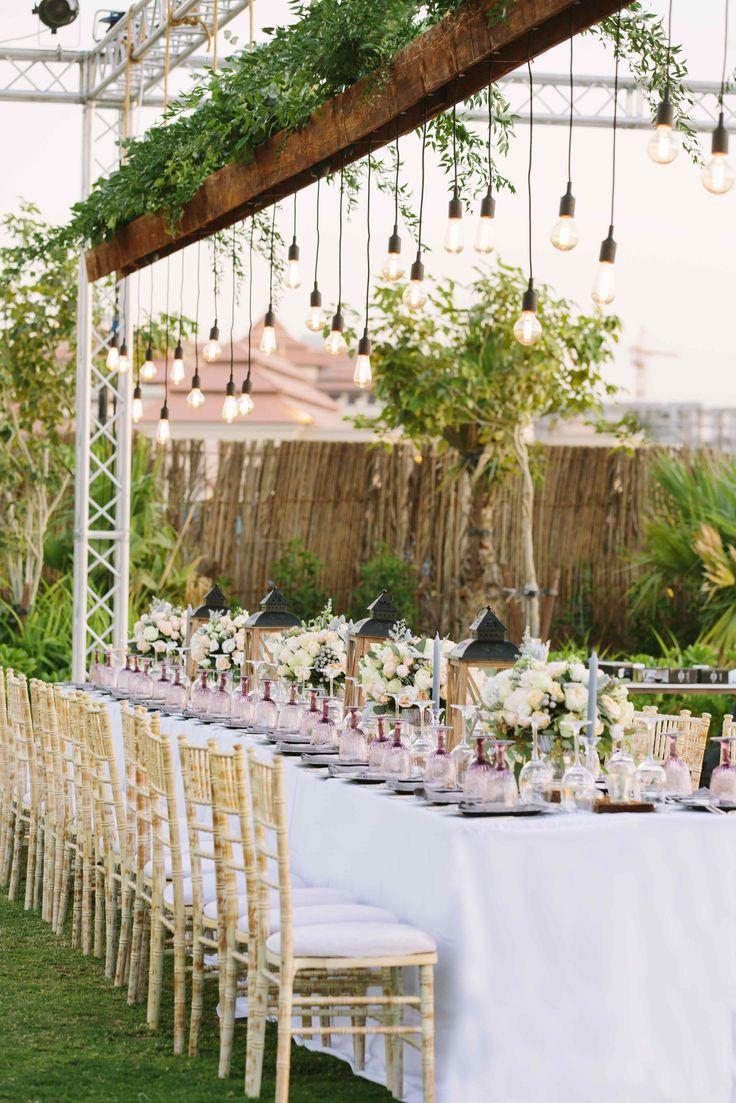 Rustic dreamy beach wedding Dubai - The Purple Chair