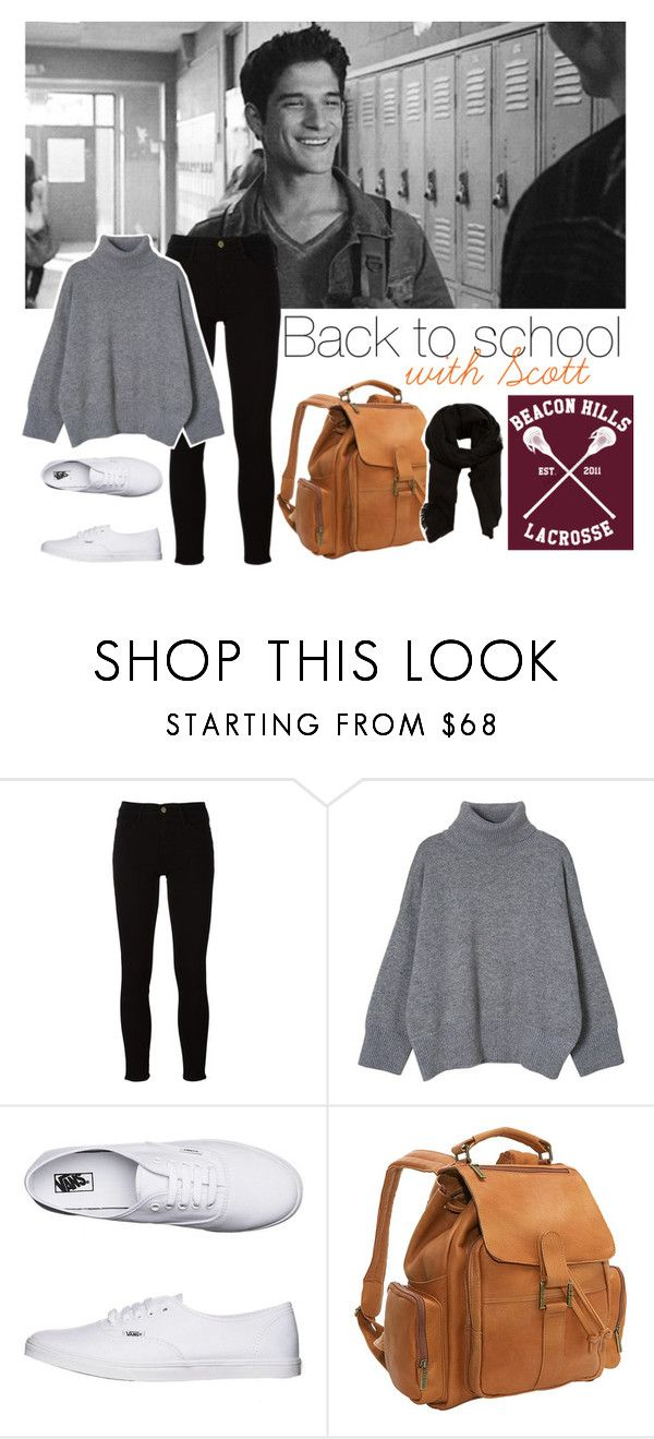 """Fashion set - Tyler Posey/Scott McCall (Teen Wolf Challenge)"" by pikenapayne ❤ liked on Polyvore featuring Frame, Vans, Le Donne and MANGO"