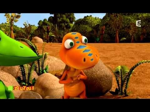 29 Dino Train A la recherche de fossiles......PLUSIEURS FILMS SUR LES DINOSAURES (environ 12 minutes)