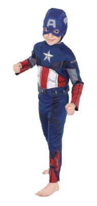 Captain America Costume. Buy now at www.littlesuperherocitizens.com