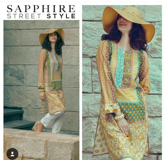 Sapphire Pakistan kurta