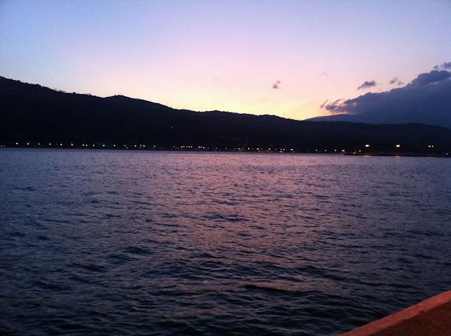 The port of Vathi, Samos