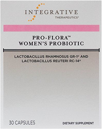 Integrative Therapeutics - Pro-Flora Women's Probiotic - Lactobacillus Rhamnosus GR-1 and Lactobacillus Reuteri RC-14 to Promote Vaginal Colonization (Shelf Stable) - 30 Capsules