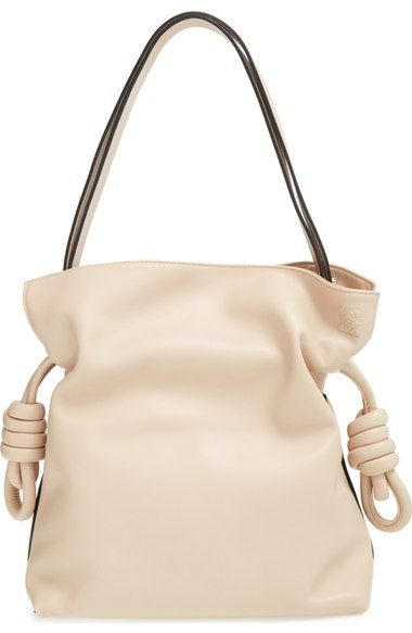 Loewe 'Small Flamenco Knot' Calfskin Leather Bag available at #Nordstrom