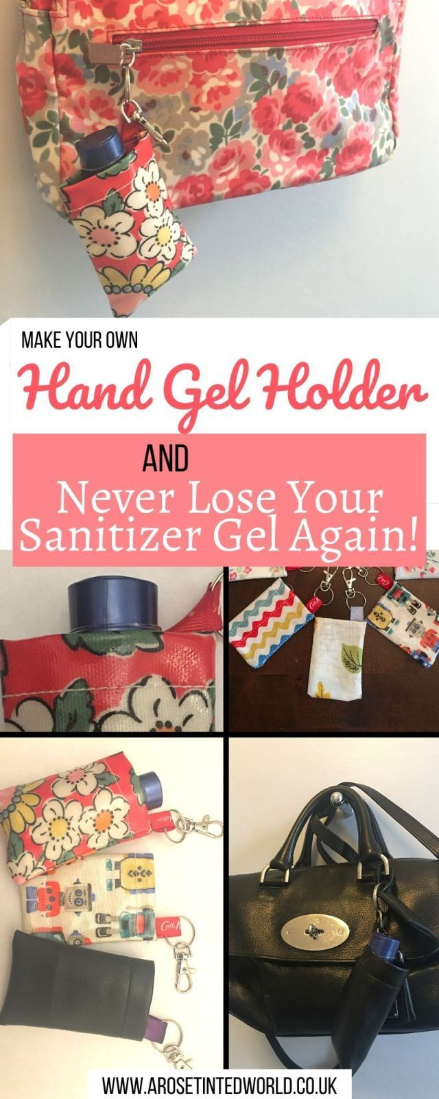 Make A Hand Sanitiser Gel Holder In 5 Minutes