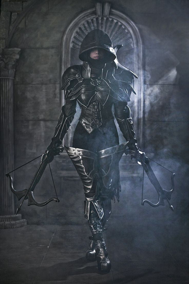 If You're Going To Dress Like Diablo III, Do It Like This Please. Can this chick get any cooler?