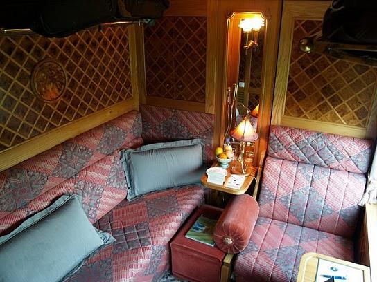 The Stateroom Compartment on the Eastern and Oriental Express