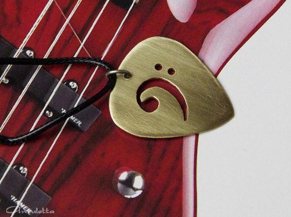 Plettro per chitarra personalizzata regalo  bass di AmulettaHu
