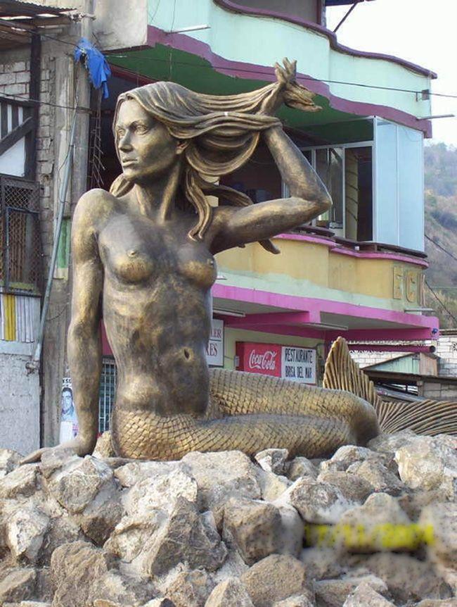 Образ русалки в городской скульптуре - Ярмарка Мастеров - ручная работа, handmade
