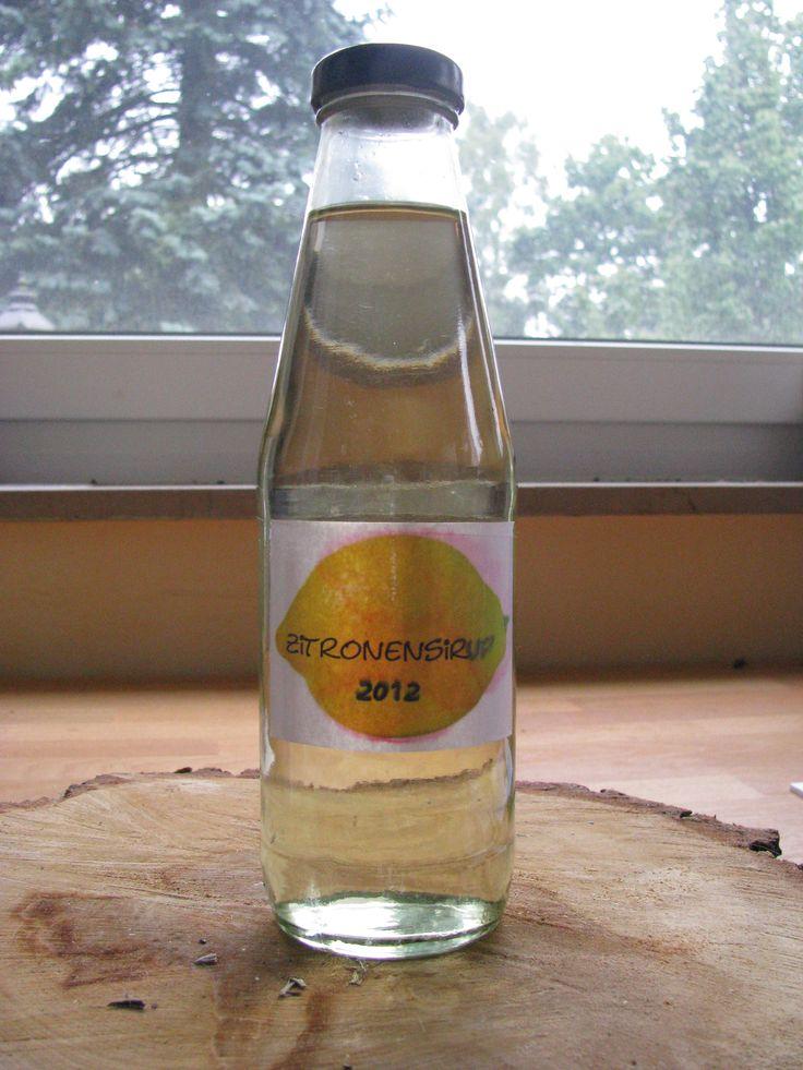 Rezept Zitronensirup von geliheinreich - Rezept der Kategorie Getränke